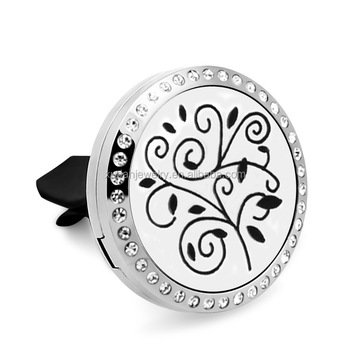 Diffuser Stainless Steel Car Aroma Hollow Locket