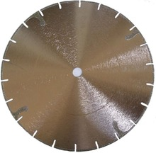 "5"" Electroplated Gulleted Rim 100mm to 400mm easy cut diamond blade saw Dry or Wet use"