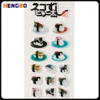 Newest selling trendy style puffy stickers for scrapbooking with good prices