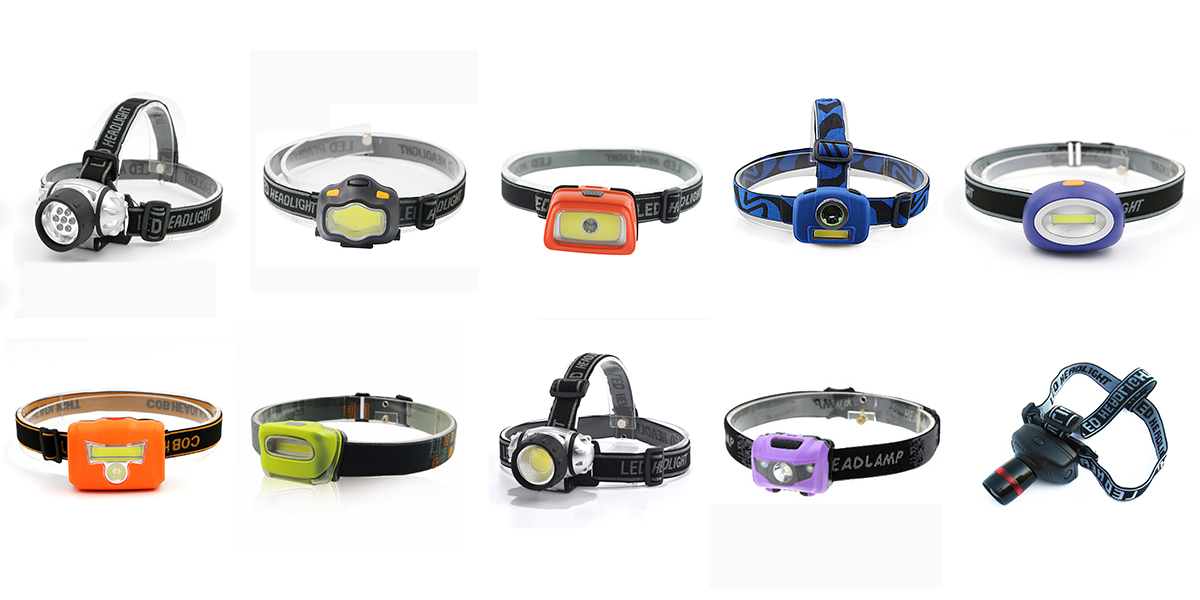 Wholesale High Power Bright LED Head Torch Light Custom Outdoor Camping COB Headlamp Waterproof