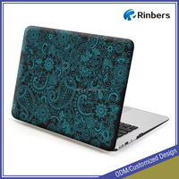 "Factory Direct Paisley Pattern Rubberized Hard Case Cover for MacBook 12 Air 11"" 11.6"" A1465 13"" Pro Retina 13"" 13.3"" 15"" 15.4"""