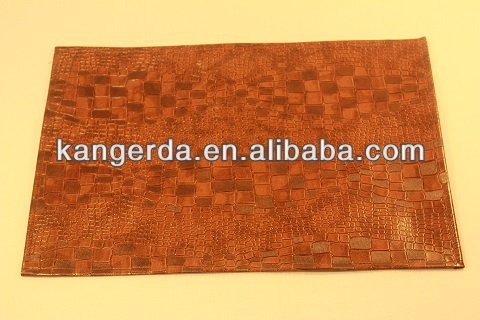 PU woven Placemat/30*45cm tablemat