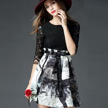 Design Best-Selling high-end casual lady dress