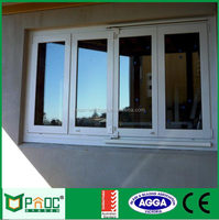 Aluminum sliding window for commercial and residential, powder coating finish and double glazed