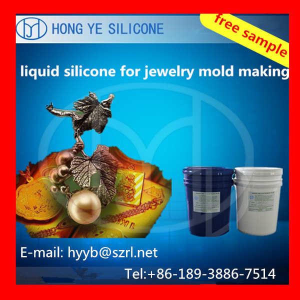 RTV Silicone Rubber for Wax Jewelry Molds