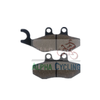 wholesale motorcycle disc brake pads AC154 for PIAGGIO/VESPA-Fly 50 (4T);VESPA-GTS 125 Super ;DERBI-Boulevard 50(2T) AC154