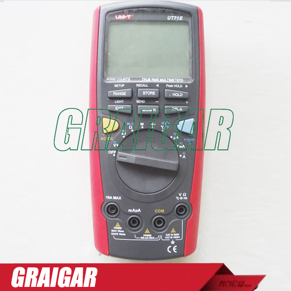 UNI-T UT71E Intelligent LCD Digital Multimeter With USB Interface Frequency Tester Meter