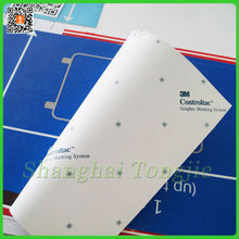 3M Controltac Wall Self Adhesive Sticker Graphic Marking System