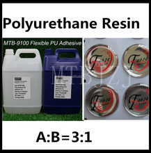 Weather Resistance Polyurethane Adhesive Resin UV 3D Glue