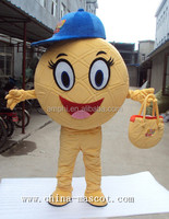hand make high quality candy mascot costumes