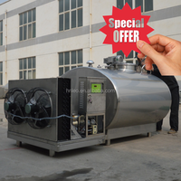 Refrigerated milk cooling tank price special offer 1000L