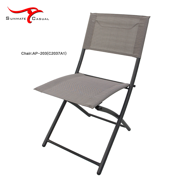 Garden Leisure Balcony Furniture Outdoor Folding Sling Chair