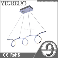 New style modern led ceiling hanging battery operated pendant lights