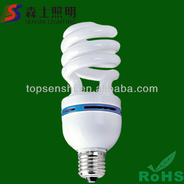 CRI>75,10000 Hours Lifetime,CE&RoHS Proved Half Spiral Lamps Dyalight Bulb Lighting