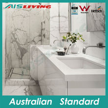 AISLIVING italian style lacquer bathroom vanity with marble
