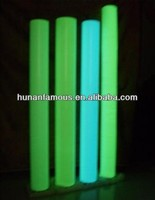 photoluminous film with self-adhesive glowing in darkness