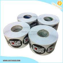 0.12mm UV resistant pvc vinyl sticker paper roll