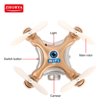 Zhorya new item cheap cool mobile phone control tiny drone with camera