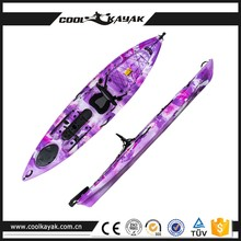 New Professional 363cm sea touring kayaks single person angler kayak for sale
