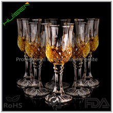 Eco-Friendly Red Wine Crystal glass giant wine 230ml goblet led champagne glass
