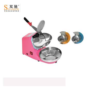 2018 Popular CE Small automatic electric ice crusher shaver machine