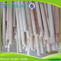 best selling products threaded long wooden sticks of brooms