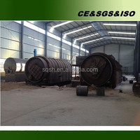 Shangqiu Sihai waste tyre to oil machinery
