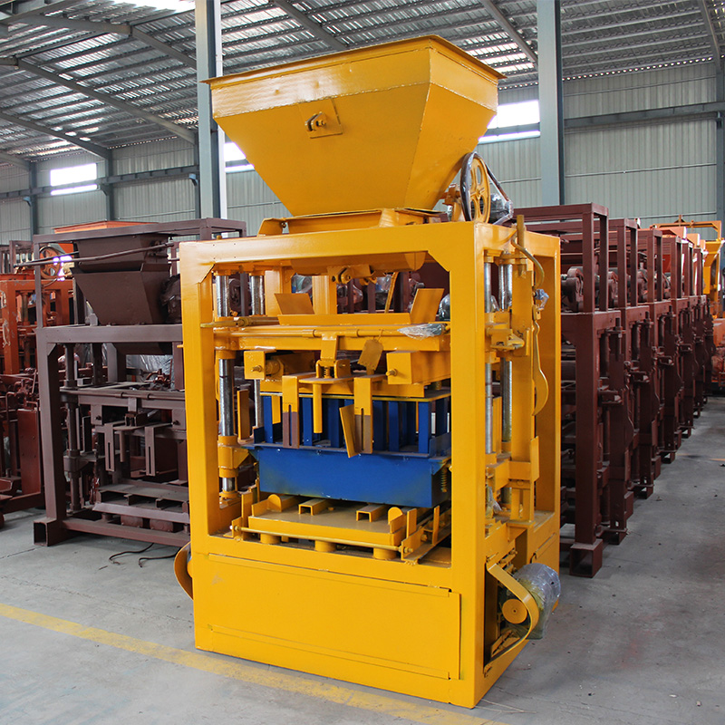 Customized color hollow cement concrete block making machine