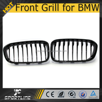 F20 Sport Bright Black ABS Front Grill for BMW F20 1 Series 2016up