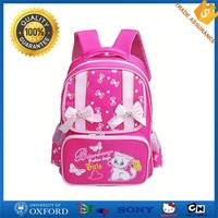 EVA factory wholesale cheap pink kids cartoon picture of school bag