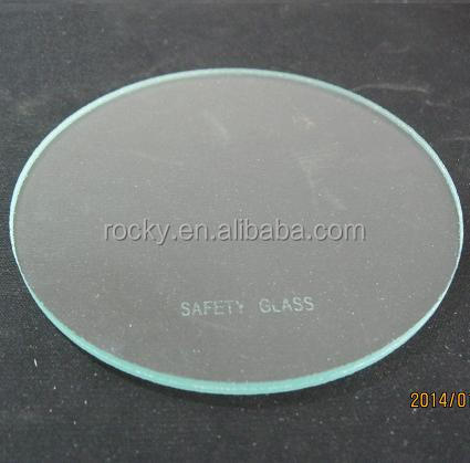 two layers 2mm clear laminated glass