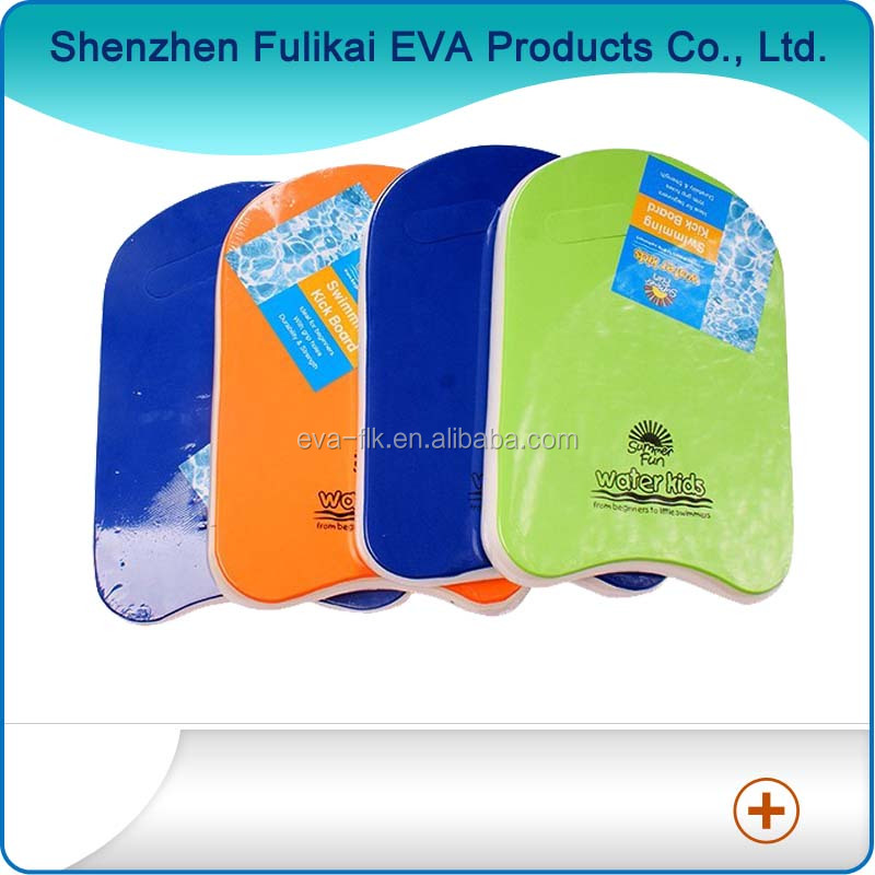 Custom Color U Shape Children Swimming Aids And Floation Toys EVA Swimming Floating Boards