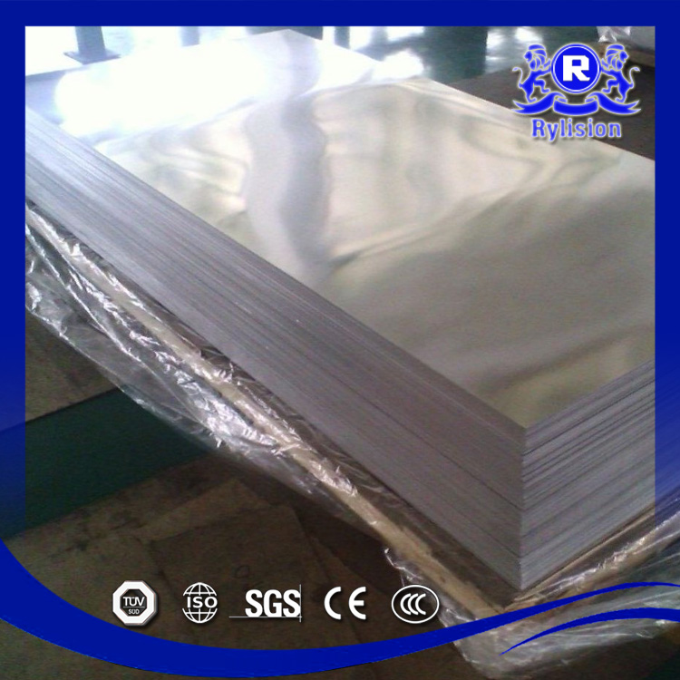 Prefabricated Steel Structure Building Planchas de acero ASTM A240 316L Stainless Steel Plate