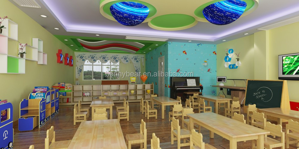 High Quality Eco-Friendly Professional Preschool Children Classroom Furniture