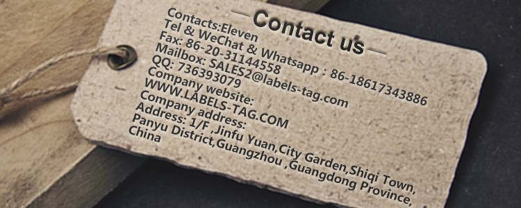 Printed Blank White Recycled Paper Hang Tag From China