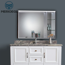 New arrival bathroom sink cabinets mirror cabinet with light