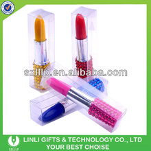 Customized Color Pen With Crystal For Cosmetics Gift