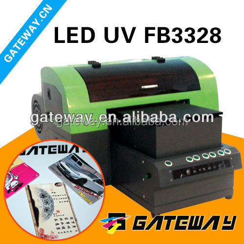 low price FB3328 uv printer/ A3 posters printing machine price