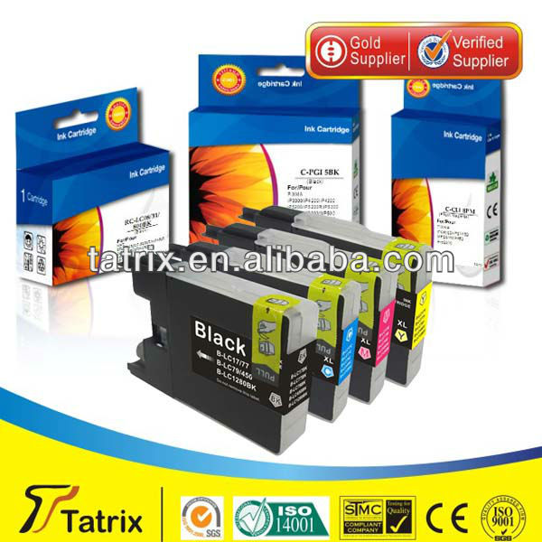 LC1280XL 60ml BK Compatible for Brother Ink Cartridge