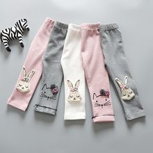 Hot Sale Baby Stretch Skinny Child Cotton Leggings Printed Trousers