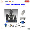 Free Shipping 220V JOVY Jetronix Eco soldering station, JOVY welding machine, bga rework station with three temperature zones