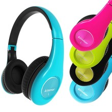 OEM/ODM MP3 Headphone Manufacturer Logo Printing 40mm Speaker Wired Stereo Silent disco Headphone