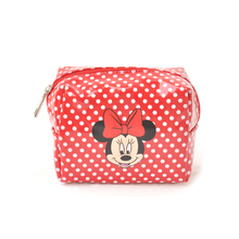 printed mickey mouse womenmakeup cosmetic bag