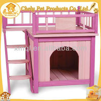 Pink double decker design Dog Pet House Pet Cages,Carriers & Houses