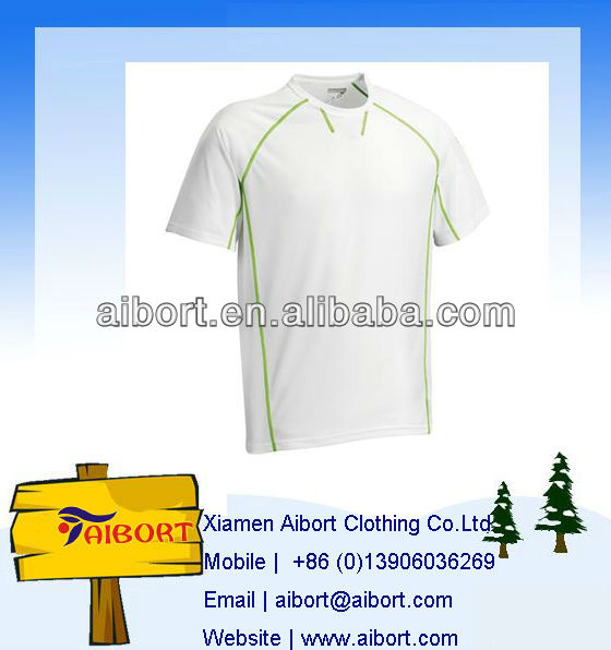050809C Basic White O collar T-shirt