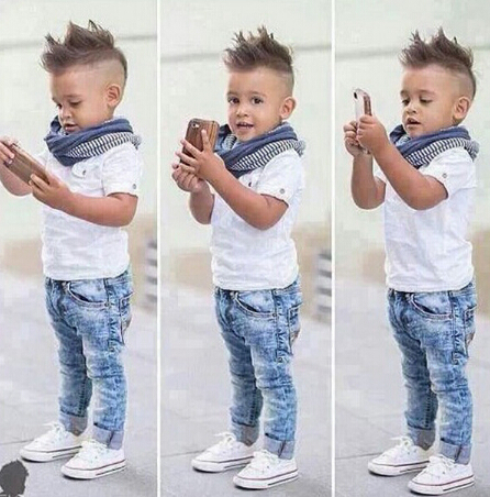 d72865h 2016 summer fashion design children clothes fashion kids clothes wholesale boys clothes sets