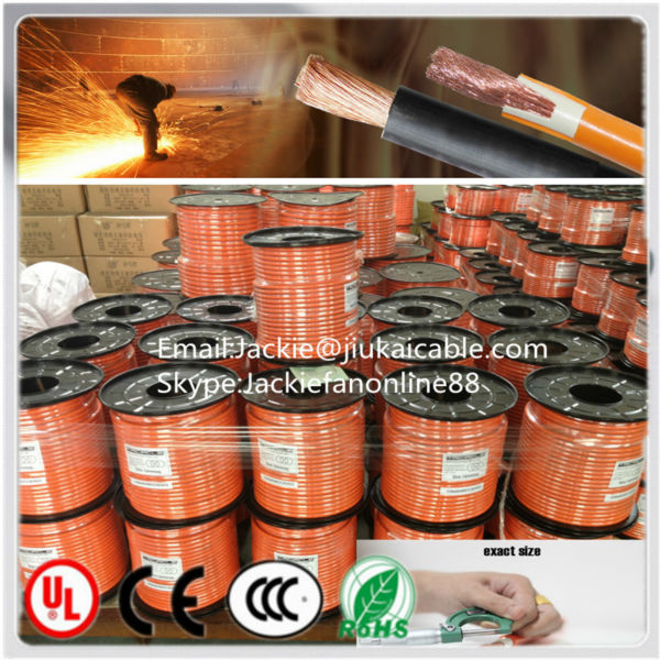 Superflex 300V/500V copper conductor pvc sheath welding cable 400amp pvc sheath welding cable iron welding machine