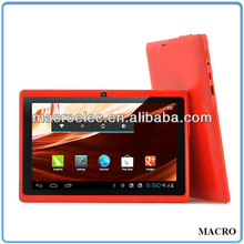 China Cheap A13 Q88 7 inch Tablet