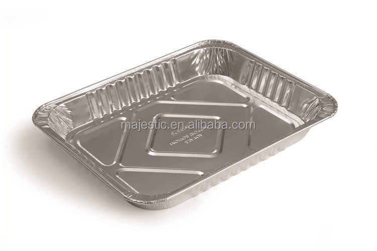 RUG 325 Food Packaging Disposable Aluminum food foil tray,airline food trays