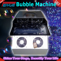 stgae effect bubble machine Remote Stage Bubble Machine / Wedding Bubble Making Machine/soap Bubble Machine